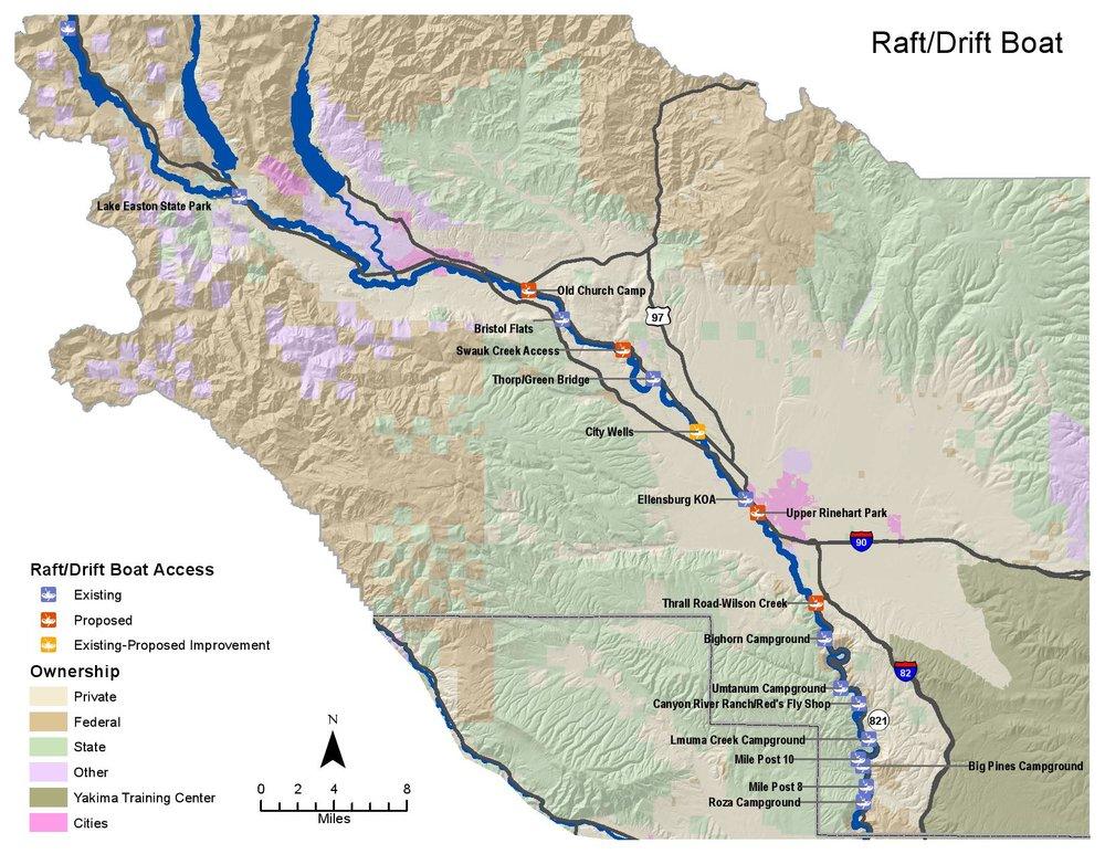 Yakima Access Study - Drift/Frame Boats