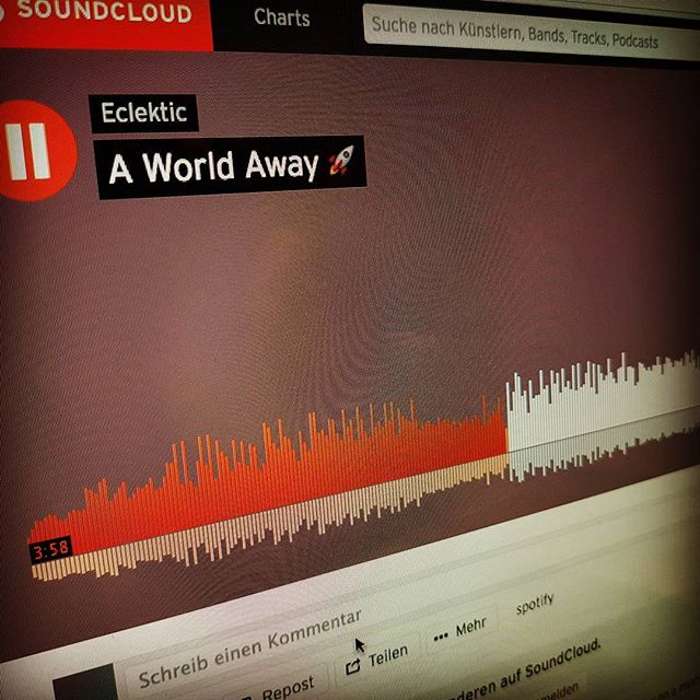 Today is release day 🤘 give it a listen #SoundCloud https://soundcloud.com/eclektic/a-world-away ❤ . . . . . #eclekticsounds #ambientmusic #chilloutmusic #ambient #chillout #psybient #electronica #electronicmusic #happyfriday