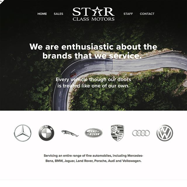 Here is an exciting new website we are about to roll out for Star Class Motors in Papillon. Thought we would share an exclusive sneak peek. Star Class offers manufacturer level repair and maintenance on premium vehicles, such as Mercedes-Benz, Bmw, Porsche, Land Rover, Jaguar, and Audi. Naturally, they need a website that matches the exclusivity of the brands the service. For this project, squarespace was the ideal platform, albeit with some custom programming. Also, we developed a suite of custom icons #autorepair #webdesign #motorsport #eurpean #autobahn #bmw #mercedesamg #f1 #porche #dinan #landrover  #jaguar #audi #vw #iconography