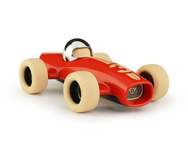 London-based Playforever are creators and connoisseurs of luxury art toys that are built to last a lifetime. Designed in England, these classic motorsport recreations are beautiful to look at and have a quality, nearly indestructible feel. And I love them.