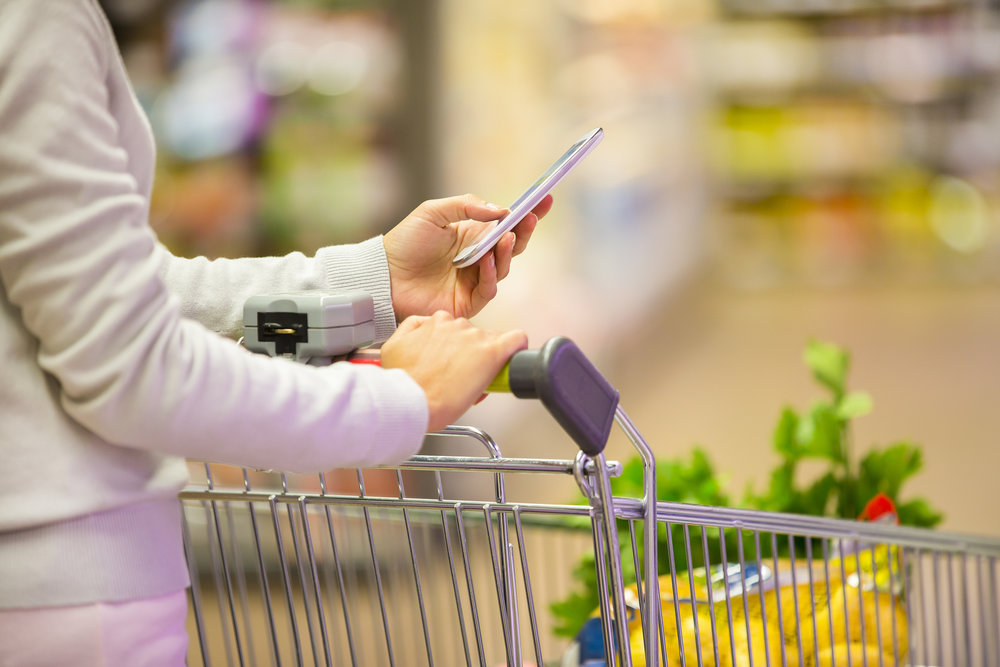 Our Focus - Eliminate checkout lines, locate items quicker and personalize marketing based on user shopping patterns and order history.