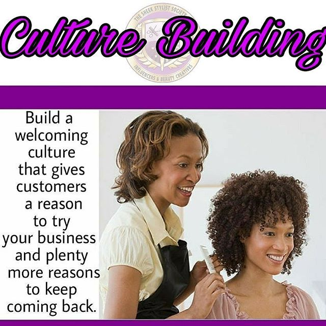 Convert prospects into clients by creating a welcoming  culture. . . . . . #twitter #in #cosmetology #cosmetologyschool #cosmetologist #cosmetologystudent #barber #barberlife #barbershop #stylist #salon #hair #hairbiz #hairbizpreneur #spa #esthetician #esthetics #entrepreneur #business  #nailart  #nails #makeup  #makeupartist #MUA #beautyandstylecreatives #beauty  #thesavvylifestyle #nails #nailart #entrepreneurs  #makeupinspiration #barberlove