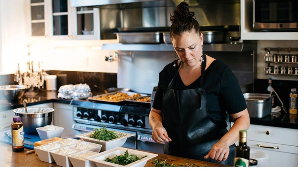 Zoi has received local and national acclaim for her contemporary, creative and ingredient focused cooking style.