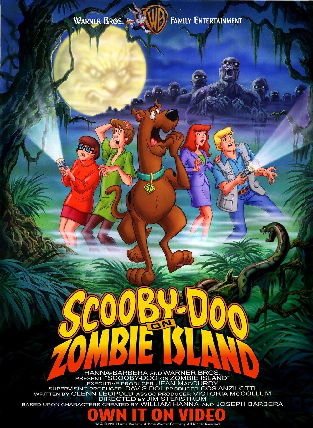 scooby doo on zombie island -