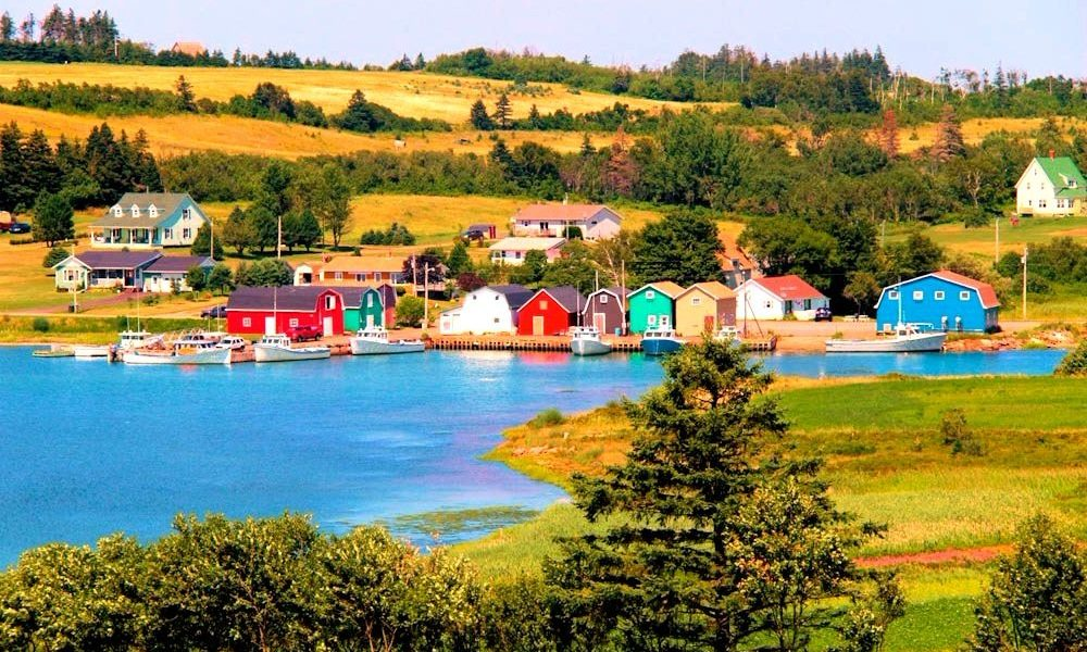 Beautiful, bucolic Prince Edward Island. A cycling paradise, especially when the sun shines
