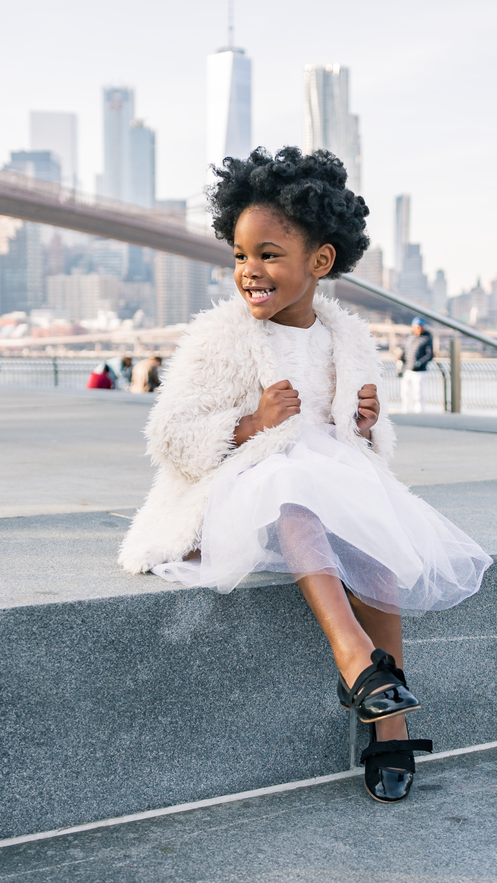 Looking for the perfect photo location?  Brooklyn Bridge park is gorgeous at all times of the day!