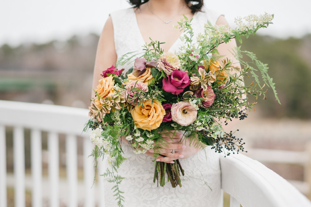 long island wedding florist