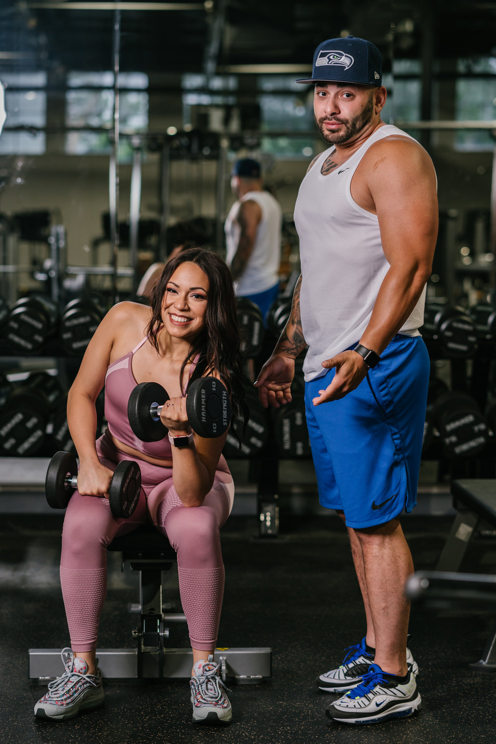 gym engagement shoot