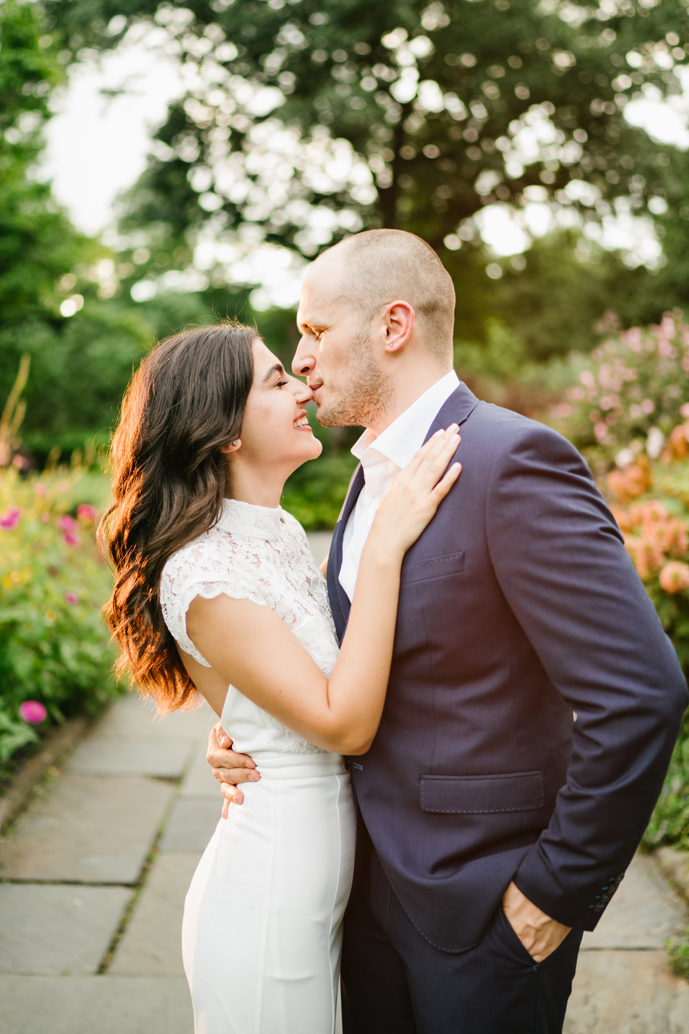 Central park weddings are the most fun, This beautiful couple had a gorgeous summer elopement in central park.