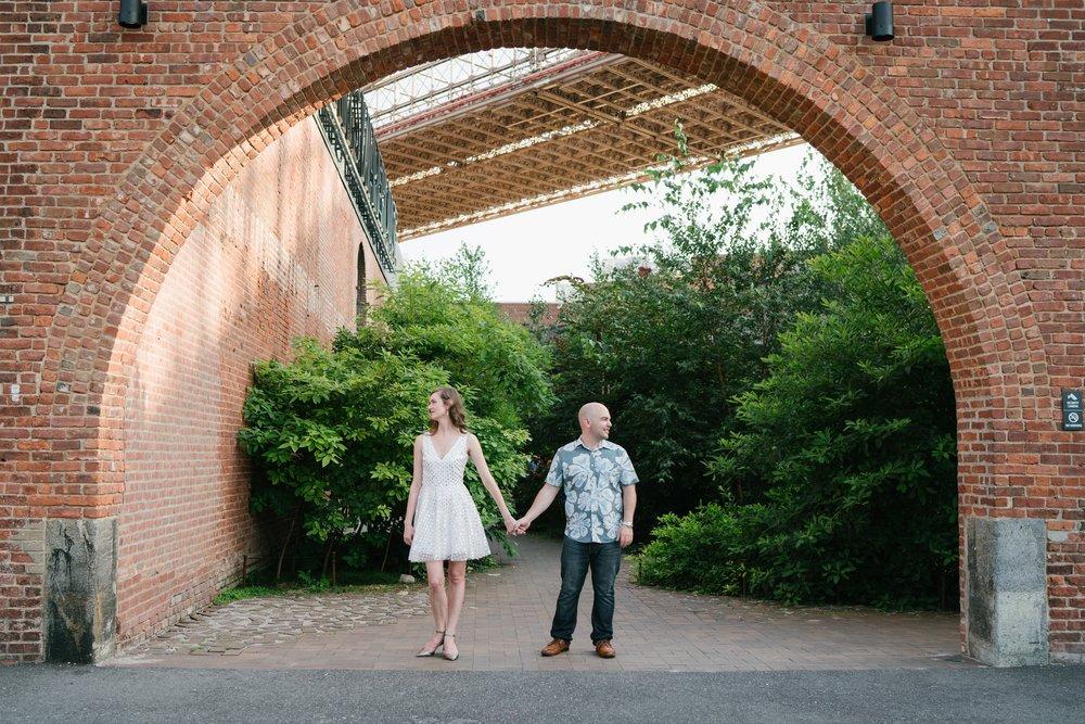 Brooklyn wedding engagement