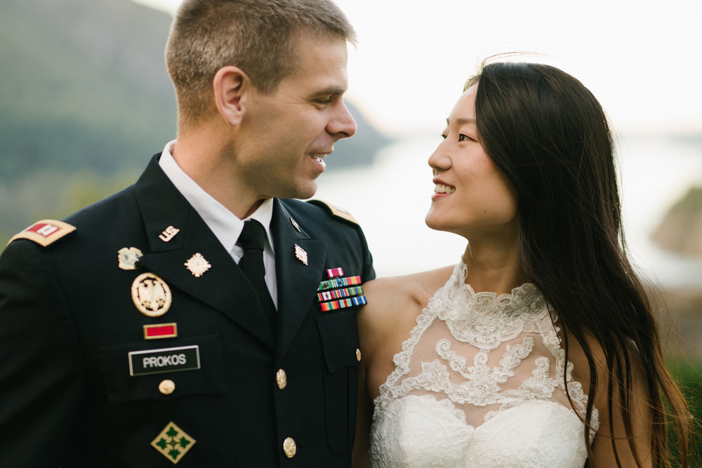 wedding at west point ny bear mountain