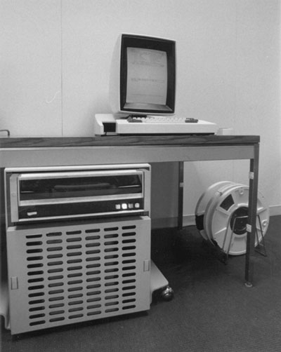 The Xerox Alto, the first Graphical User Interface