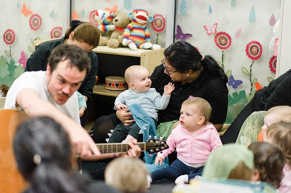 Sentia Early Learning child care day care Melbourne city babies toddler music program