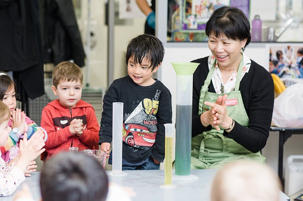 Sentia Early Learning child care day care Melbourne city science activity