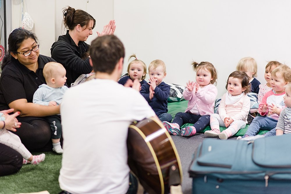 Sentia Early Learning child care day care Melbourne city music program