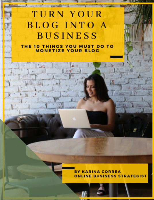 turn your blog into a business guide