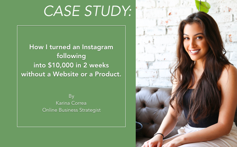 karina correa case study