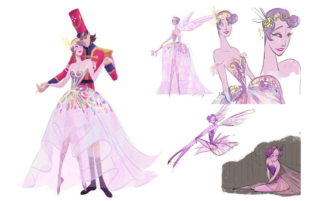 Sugar Plum Fairy and Nutcracker