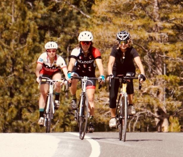 From left to right: Allie Donovan, Emily Turner, Alenka Vrecek