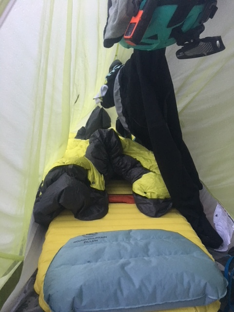 Tight and wet sleeping quarters