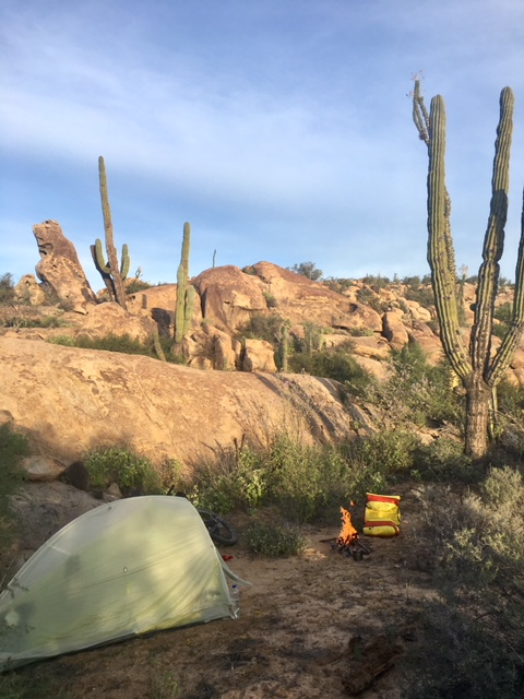 My favorite camping spot amongst giant boulders
