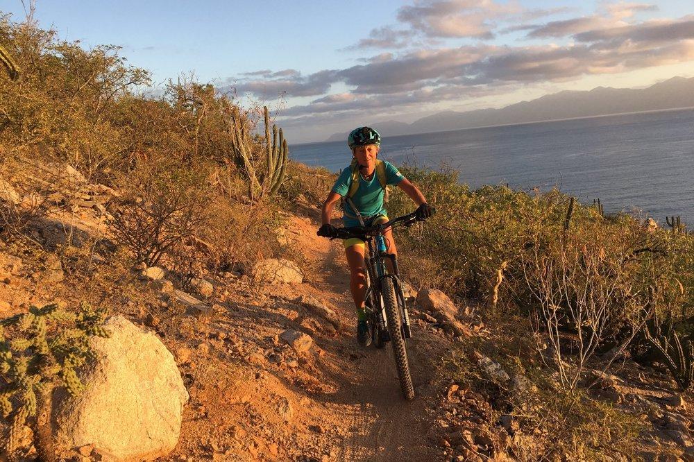 Punta Gorda trail at sunrise