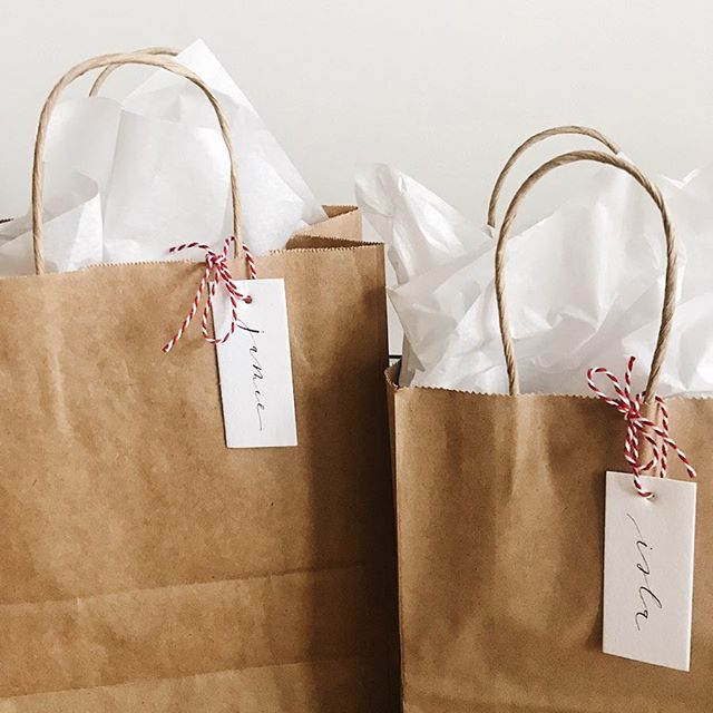 alllll about those brown paper packages ties up with string ✨💌 #designxchloe