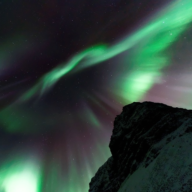 the northern lights representing a strange dream or parasomnia