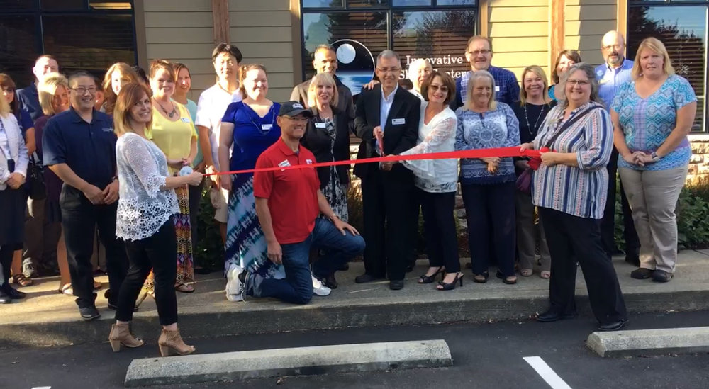 Innovative Sleep Centers of Tumwater has it's Ribbon Cutting and Open House with the Tumwater Chamber of Commerce.