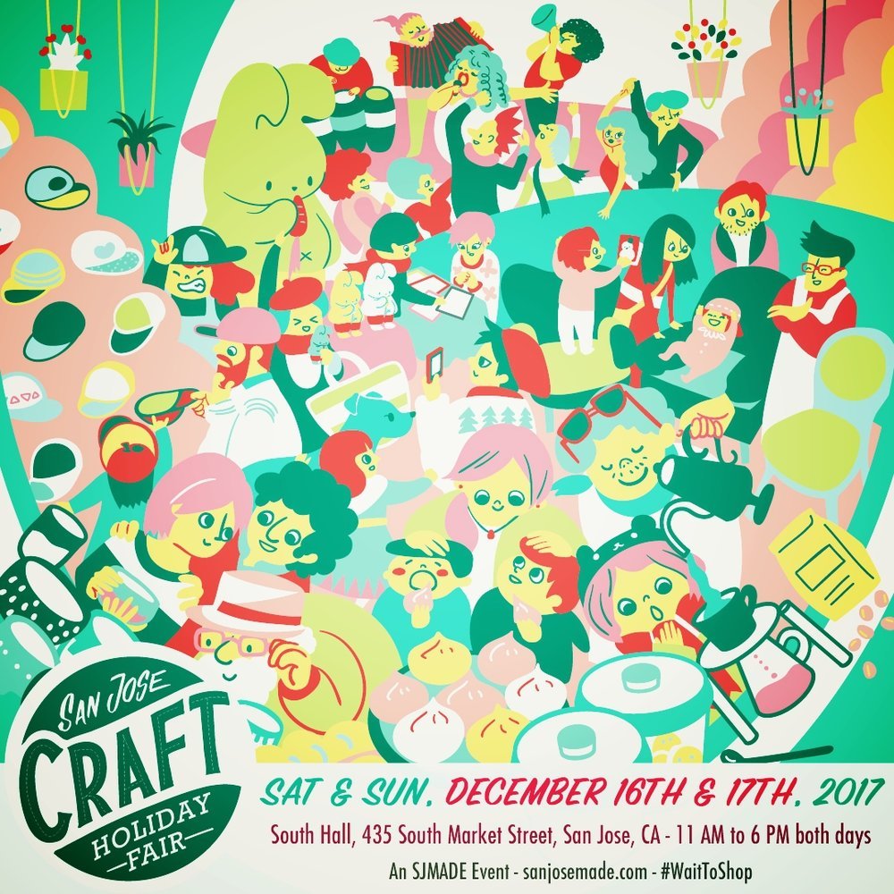 San Jose Craft Holiday Faire - Saturday and Sunday, December 16th and 17th11 AM - 6 PMSouth Hall (Convention Center)435 S. Market St, San Jose, CABe sure to stop by the Fluffed Animals booth- #310!Learn More
