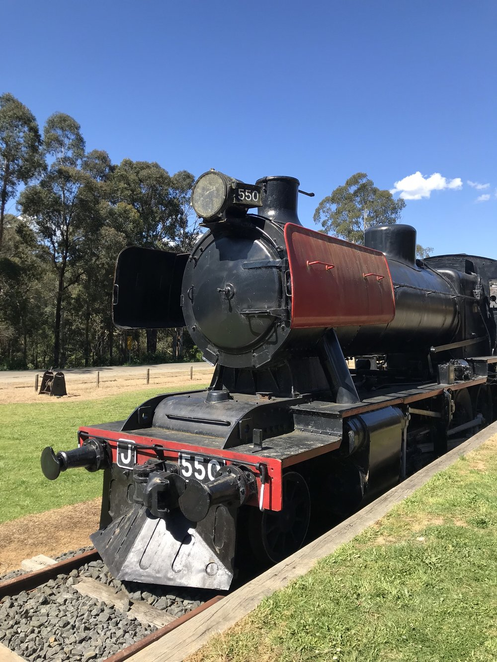Victorian Railways K Class Locomotive, Noojee Rail Trail, Gippsland