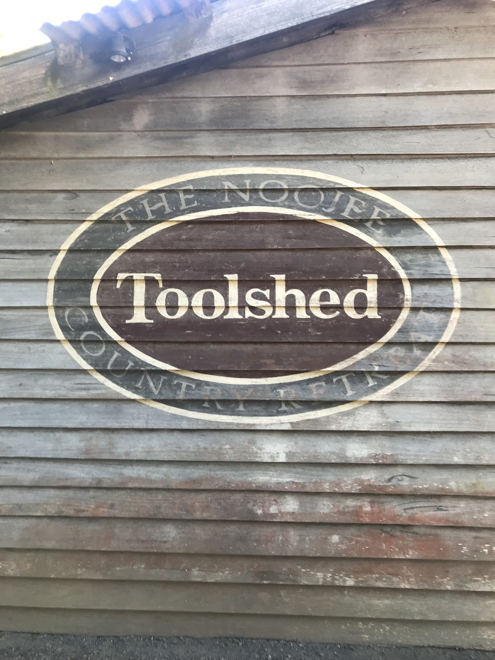 Good eating at The Noojee Toolshed