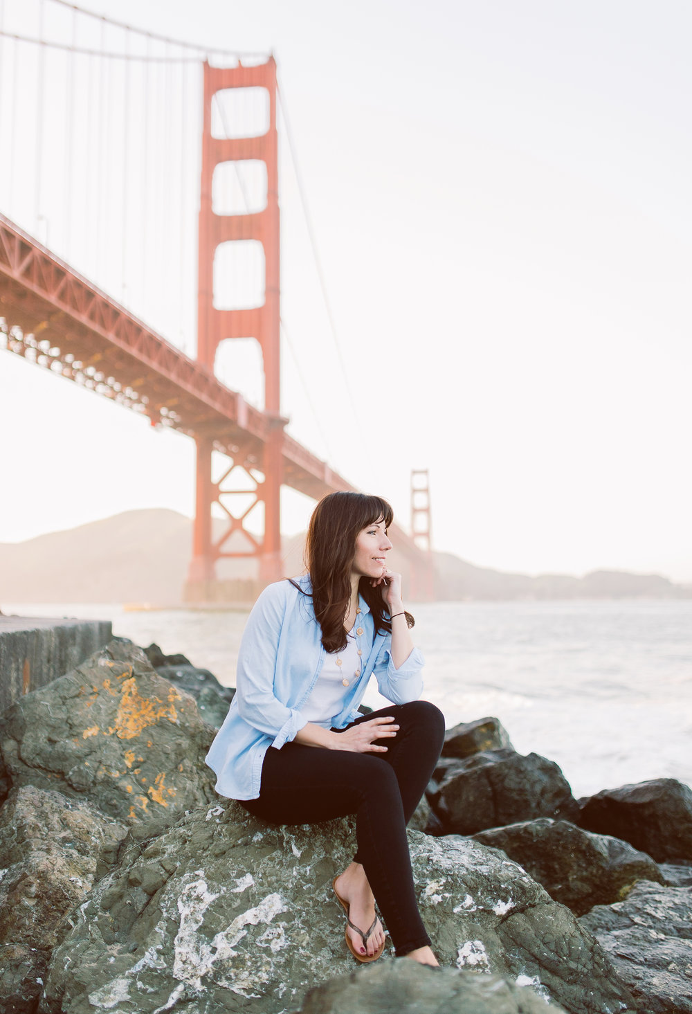 Best Instagrammable Spot at Golden Gate Bridge