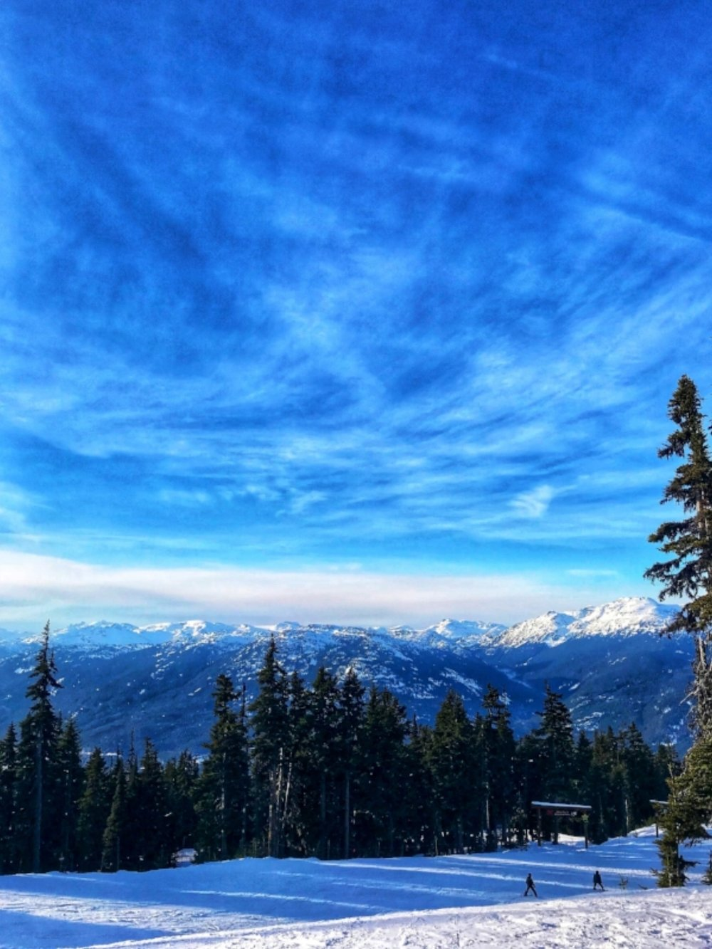 Whistler Blackcomb Mountain Hosts will show you new terrain - and beautiful views!