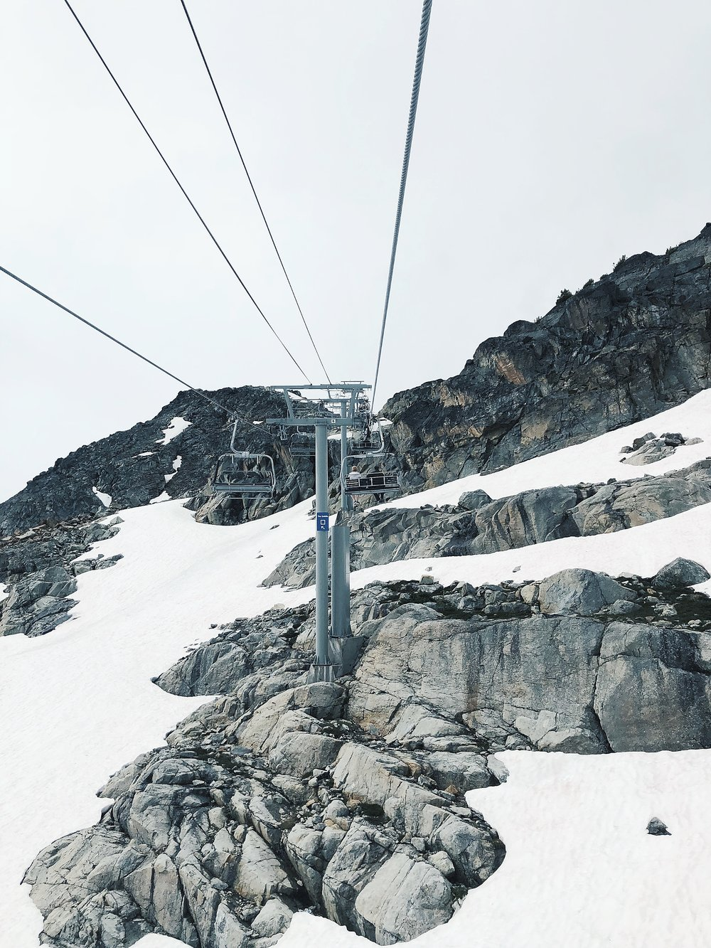 Peak Express chairlift to Whistler Suspension Bridge