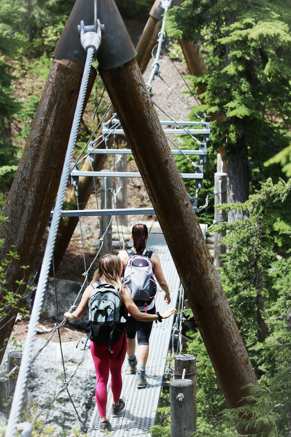 Whistler Suspension Bridge at Rainbow Lake