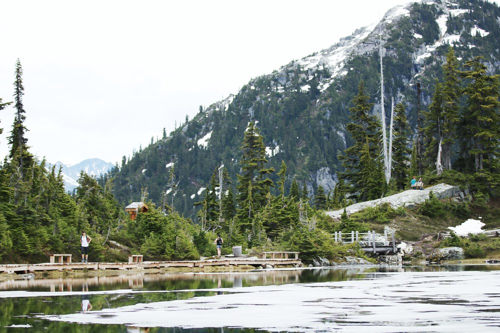 Boardwalk around Whistler's Rainbow Lake