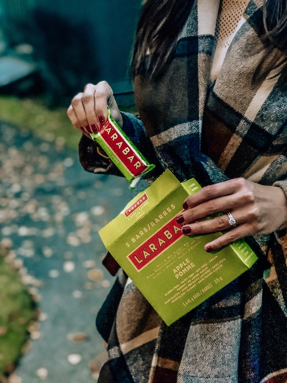 Healthy snack bars Whole30 larabar
