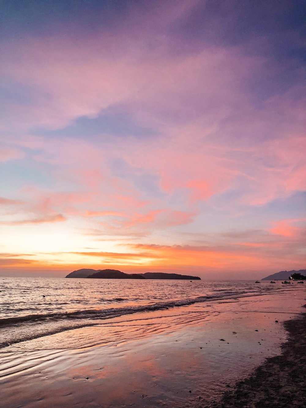 Langkawi Cenang Beach Sunset