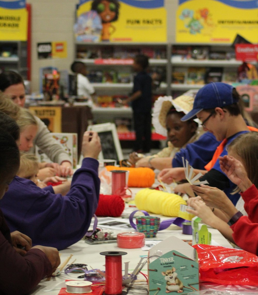 Literacy Night - Literacy Night is a themed event held each year to promote the fun that can be done while reading! Literacy and STEAM integrated activities, story time, and snacks make up an awesome night of fun for Covenant students.