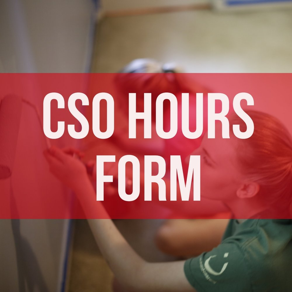CSO HOURS FORM