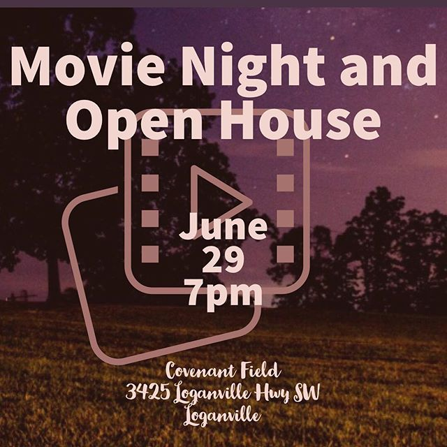 Bring your family and friends and chairs and blankets and come watch a movie on the field with us. We'll be offering tours for families interested in the school! #covenantcougars #covenantmovienight