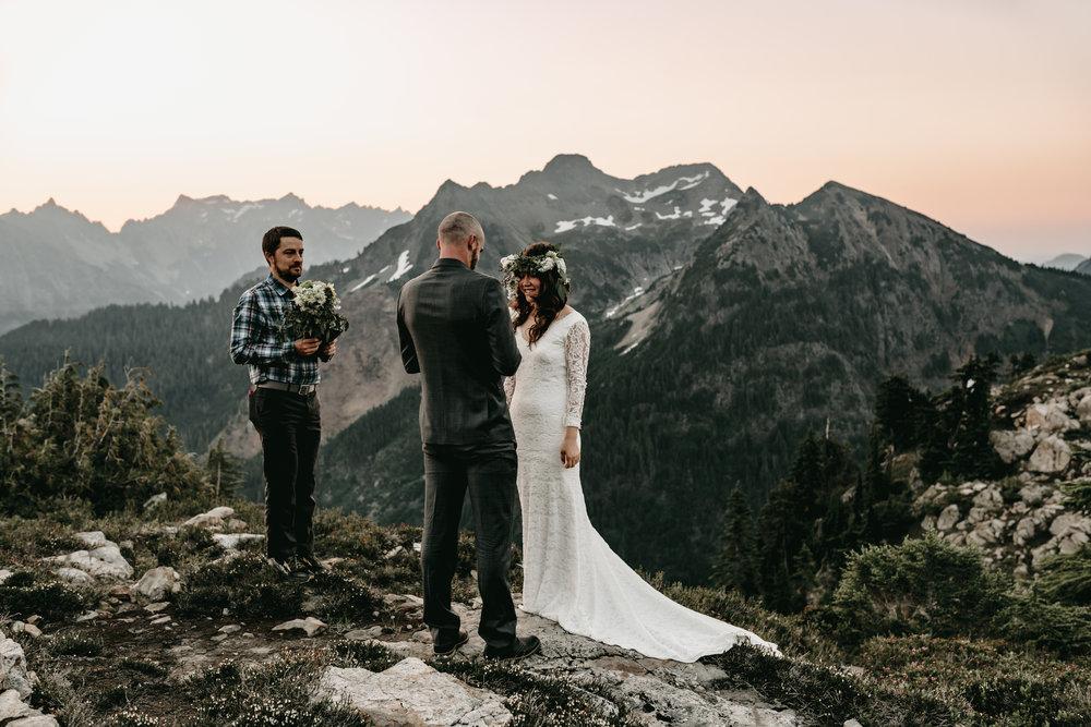 ADVENTURE WEDDING NORTH CASCADES