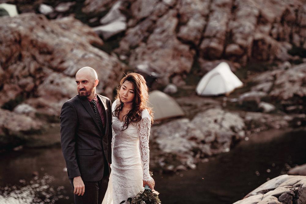 NORTH CASCADES ADVENTURE ELOPEMENT | MARIE VANDERPOOL PHOTOGRAPHY
