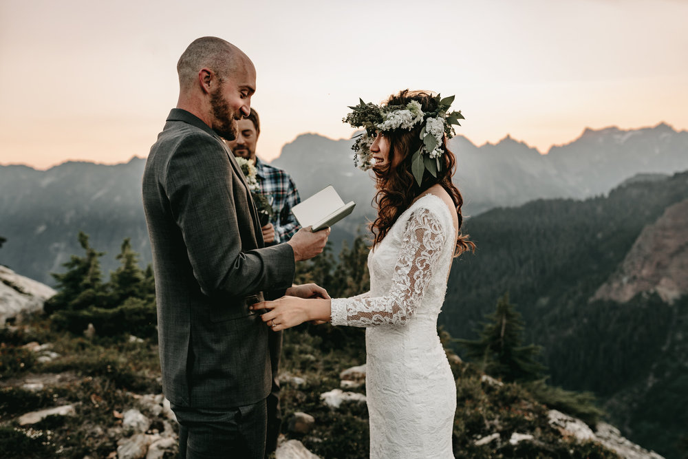 ADVENTURE ELOPEMENT IN NORTH CASCADES NATIONAL PARK