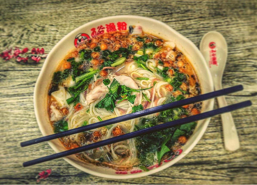 Dinner options - For dinner and meals on the weekend, there are so many options. I particularly love this five-grain wheat noodles with fish soup. It's so healthy and delicious.And guess what? It costs only US $2.