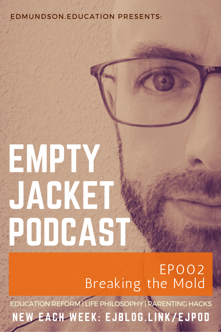 Three successful individuals have one surprising thing in common: the letters C, D, and F.  - Find out what I mean inside EmptyJacket Podcast episode 2 - Breaking the MoldShow notes: Breaking the Mould at EmptyJacket (Medium Post)