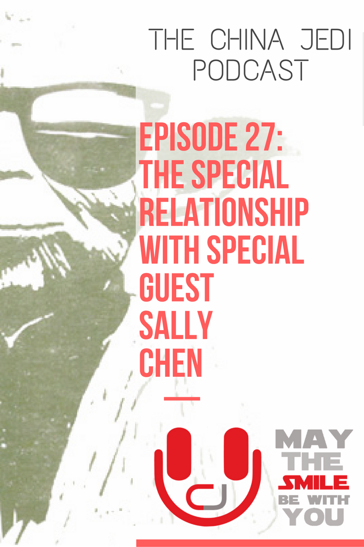 China Jedi Show: E27 - The Special Relationship - In this episode (with special guest Sally Chen) Chris and William discuss national holidays, netizens, social media profiles, happiness, Chinese characters and much, much more!For those living, working or travelling in China or interested in learning about Chinese culture, expat life and foreigners perceptions.Live, work, travel, do business and have fun in China. May the smile be with you!