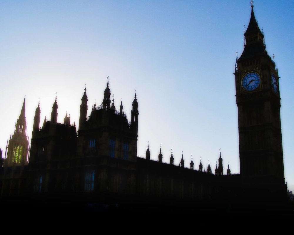 The Palace of Westminster, commonly known as Parliament House, with Elizabeth Tower to the right, which houses Big Ben.