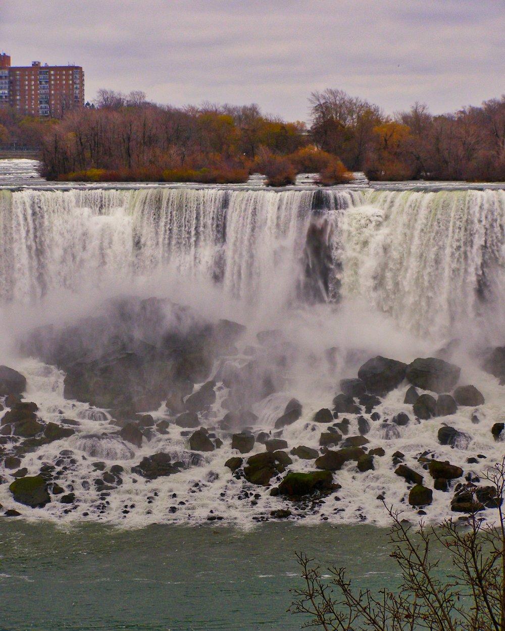 The Cascades, American Falls, Niagara